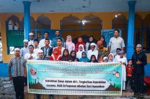Alumni Ipmafa-Fakfak melakukan angjangsana ke Ponpes Hidayatulloh Fakfak