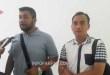 Kasat reskrim Polres Fakfak, AKP. Misbachul Munir, S.I.K. didampingi KBO Reskrim Ipda. Slamet Eko R, S.H.