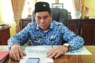 Samaun Dahlan, S.Sos., M.A.P. Kepala Dinas PUPR Kabupaten Fakfak