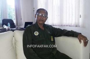 Nasir Maswatu, Panitera Pengadilan Agama Fakfak