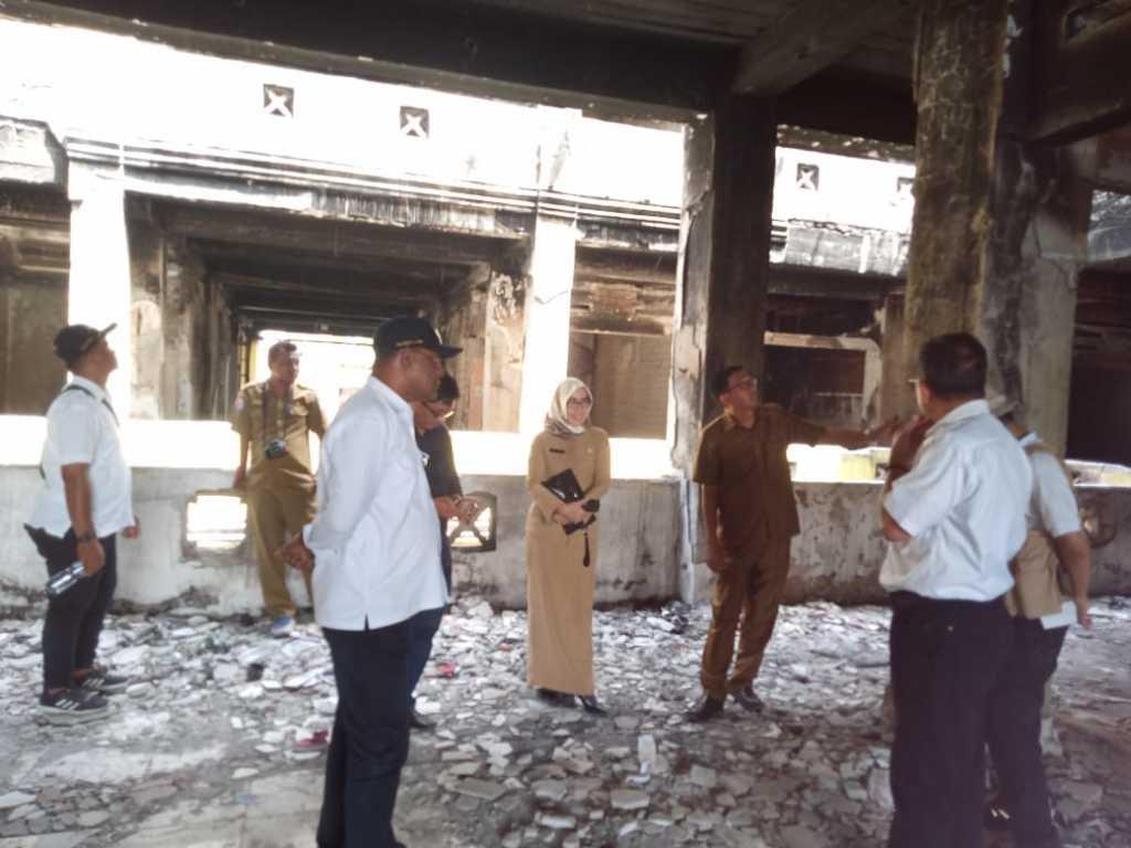 Tim melakukan kunjungan ke Pasar Thumburuni, Fakfak