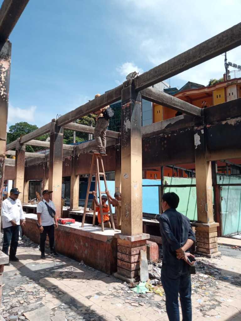 Survey investigasi di Pasar Thumburuni Fakfak