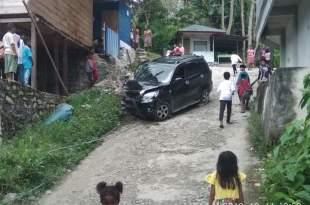 4 orang terluka dalam kecelakaan mobil Terios usai sholat Jumat