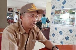 Chrisye Talla, Kepala Bidang Pasar Disperindag Kabupaten Fakfak, ungkap cerita dibalik relokasi pasar