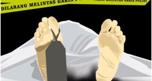 Ilustrasi korban pembunuhan