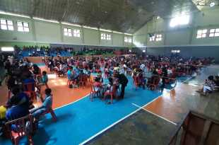 Suasana turnamen free fire yang diikuti 135 tim di Fakfak, Papua Barat (dok IF-wah)