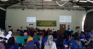 Suasana Kopi Morning & Bincang - bincang Milenial di Kampus Polinef