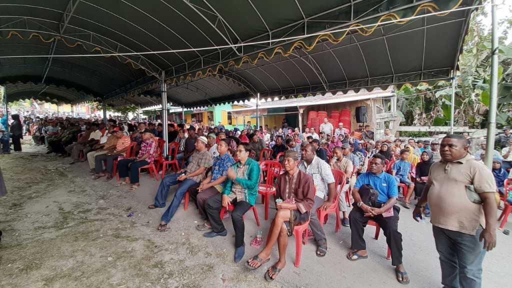 Undangan dan pendukung SADAR yang hadir pada launching Samaun Center