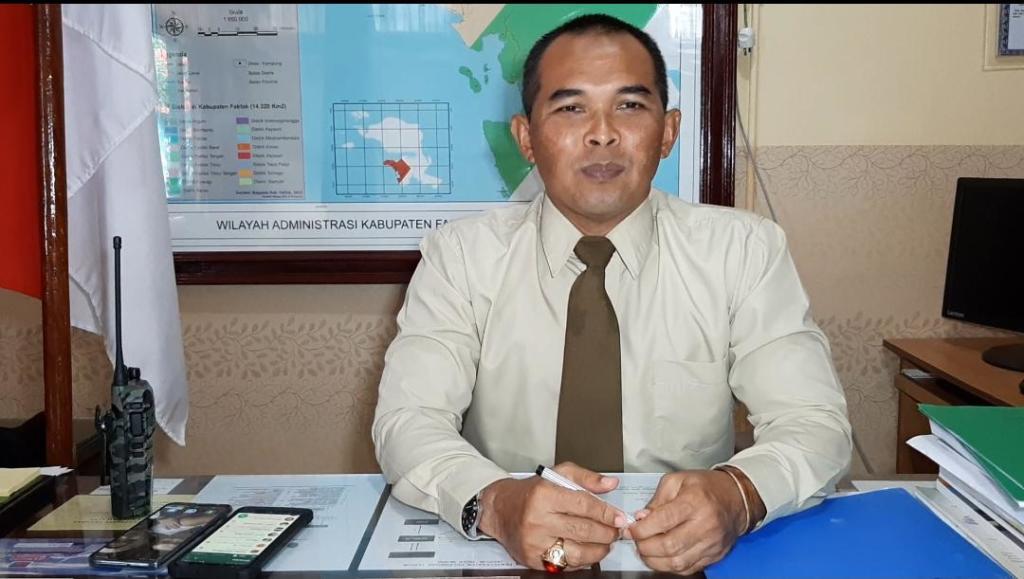 Letnan Kolonel Inf. Yatiman, A.Md., Komandan Kodim 1803/Fakfak