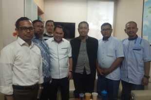 Samaun Dahlan usai mengikuti fit and proper test di DPP PKS selasa (7/1) siang tadi. (foto dok. PKS)