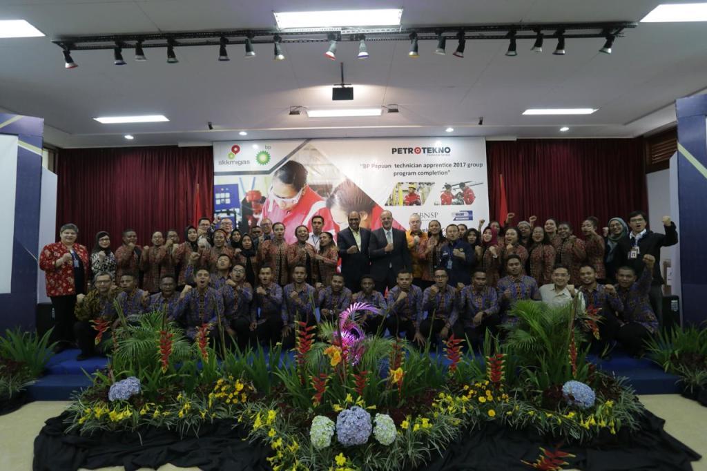 37 putra Papua Barat, lulus progam pemagangan teknisi Tangguh, Senin, 3 Pebruari 2020