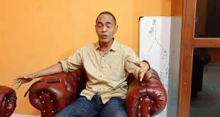 Ketua KPU kabupaten Fakfak, Dihuru Dekry Radjaloa, S.P.