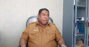 Sekretaris Daerah Fakfak yang juga Ketua Satgas Pencegahan Corono Kabupaten Fakfak, Drs. H. Ali Baham Temongmere, M.T.P.  (foto dok IF)